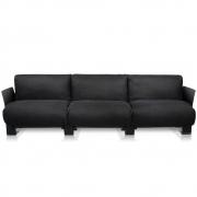 Kartell - Pop Linen 3er Sofa
