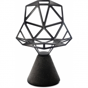 Magis - Chair One Stuhl mit Zementsockel