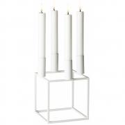 by Lassen - Kubus 4 Kerzenständer Weiß