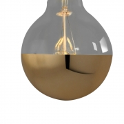 Nook London - Super Globe Led Filament Gold Cap