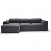 Bruunmunch - Loose 3 Sitzer Sofa/Chaise Lounge