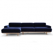 Bruunmunch - Reason 2 Sitzer Sofa/Chaiselounge