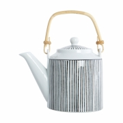 House Doctor - Pen Stripe Tea Pot