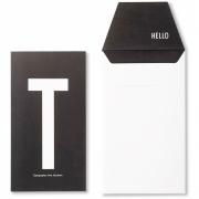 Design Letters - AJ Postkarte