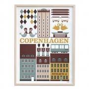 Ferm Living - Copenhagen Poster
