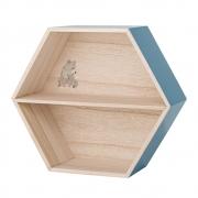 Bloomingville - Hexagonal Box Wandregal