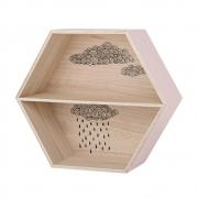 Bloomingville - Hexagonal Box 2 Wandregal
