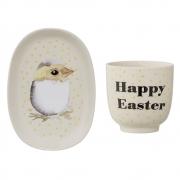 Bloomingville - Easter 1 Teller&Tasse