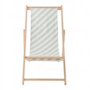 Bloomingville - Deck Chair Strandliegestuhl