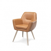 Wewood - Accent Leather Chair Sessel