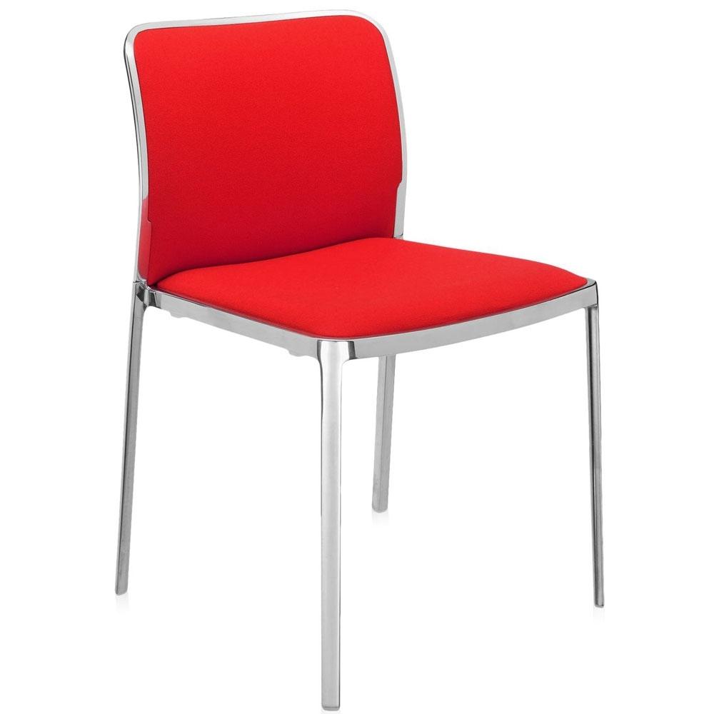 Kartell audrey soft stuhl trevira nunido for Sedie di design famosi