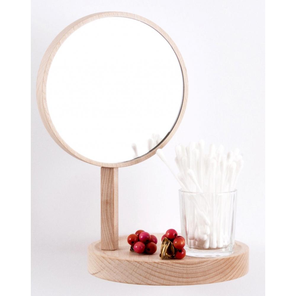 moustache belvedere regal mit spiegel nunido. Black Bedroom Furniture Sets. Home Design Ideas