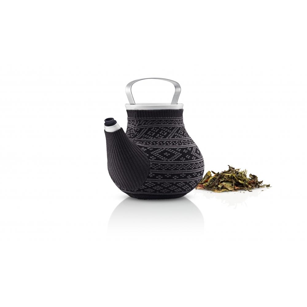 eva solo my big tea teekanne grau muster nunido. Black Bedroom Furniture Sets. Home Design Ideas