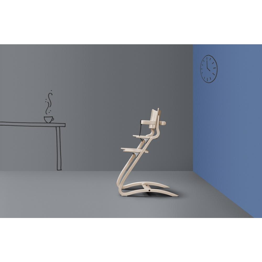 leander sicherheitsb gel inkl gurt f r hochstuhl natur gurt braun nunido. Black Bedroom Furniture Sets. Home Design Ideas