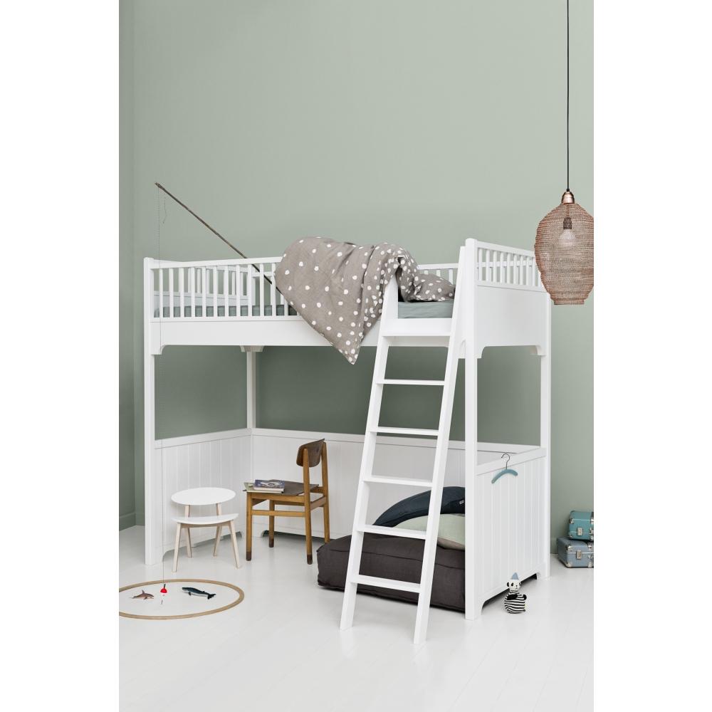 oliver furniture seaside hochbett nunido. Black Bedroom Furniture Sets. Home Design Ideas