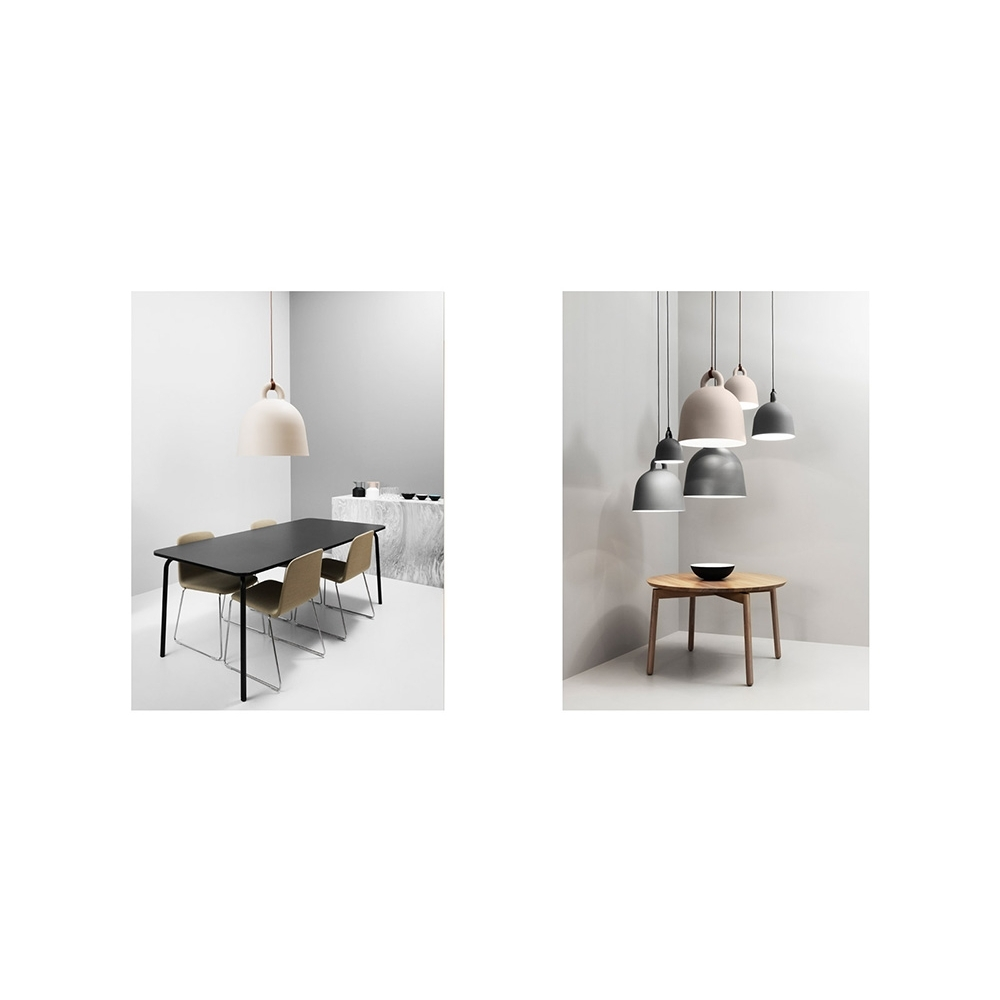 normann copenhagen bell lampe nunido. Black Bedroom Furniture Sets. Home Design Ideas