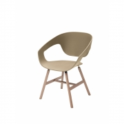 Casamania - Vad Wood Chair Sand | Wood | Natural Oak