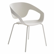 Casamania - Vad Wood Chair White | quadrupedal | White