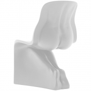 Casamania - Chair Her | White | Frosted