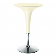 Magis - Bombo Tisch 64-90 cm höhenverstellbar | Elfenbein