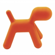 Magis - Puppy Hocker Small | Orange matt