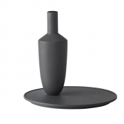Muuto - Balance Vase Schwarz