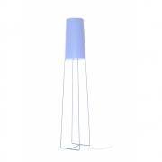 frauMaier - Slim Sophie Floor Lamp Lightblue | Footdimmer
