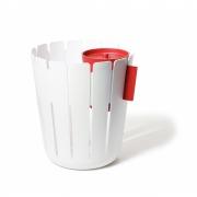 Konstantin Slawinski - Basketbin Papierkorb Set Weiß | Rot