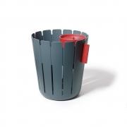 Konstantin Slawinski - Basketbin Papierkorb Set Anthrazit | Rot