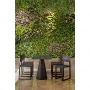 Pedrali - Ikon 865 Tisch Schwarz-quadratisch