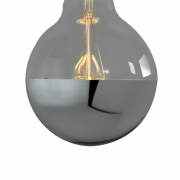 Nook London - Super Globe Led Filament Silver Cap