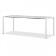 Kristalia - Thin-K Longo Holztisch 120 cm   295 cm   Eur. Eiche   Weiß rechteckig