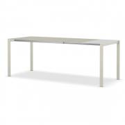 Kristalia - Thin-K Tisch Outdoor 90 cm | 170 - 250 cm | Grau Anthrazit | Grau Anthrazit rechteckig