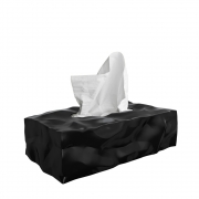 essey - Wipy Cube II Kosmetiktücherbox Schwarz