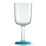 Palm Products - Weinglas 300ml (4er Set) Blau