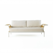 Ethimo - Meridien 3-Sitzer Sofa