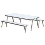 Hans Hansen - Concept 47 H 840 VA Tisch in und Outdoor