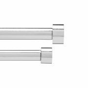 Umbra - Cappa Doppel-Gardinenstange