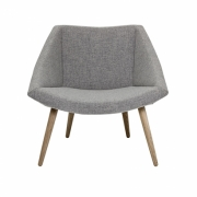 Bloomingville - Elegant Chair Sessel mit Holzgestell