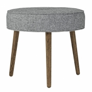 Bloomingville - Button Pouf Polsterhocker