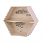 Bloomingville - Hexagonal Box 2 Wandregal