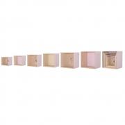 Bloomingville - Display Boxes Wandregal Set