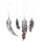 Bloomingville - Deco Feather Deko Feder Set