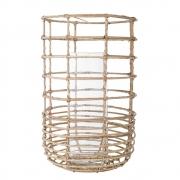 Bloomingville - Lantern 1 Laterne mit Glas Groß