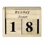 Bloomingville - Calendar Ewiger Tischkalender