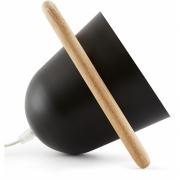 Incipit - Elmetta Table Lamp Black