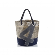 727 Sailbags - Big Tasche Tech Classic Marineblau. No. 4 Grau