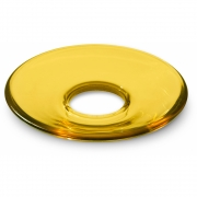 Holmegaard - Glass Candle-Cuff for Lumi Candle Holder 8.5 cm | Yellow