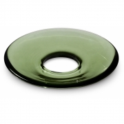 Holmegaard - Glass Candle-Cuff for Lumi Candle Holder 8.5 cm | Green