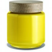 Holmegaard - Palet Aufbewahrungsglas Gelb (0,5 l)